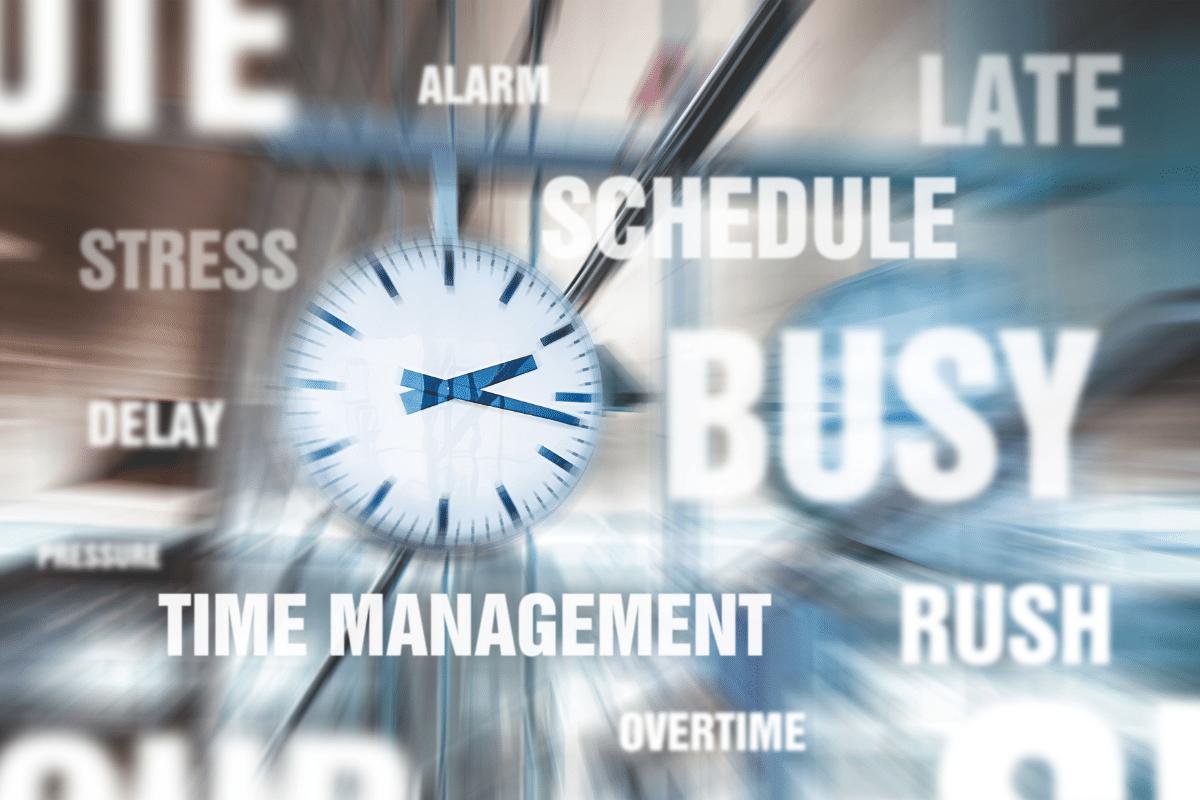 Stress Zeitmangel Zeitmanagement